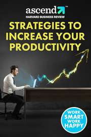 Strategies to Increase your Productivity