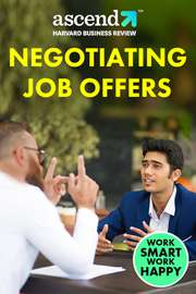 Negotiating Job Offers