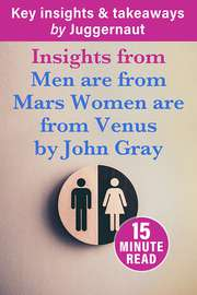 Summary of Men are From Mars, Women are from Venus