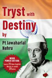Tryst With Destiny: Word Power Edition