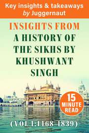 A History of The Sikhs, Vol 1: 1469-1839