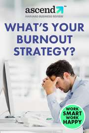 What's Your Burnout Strategy?