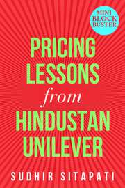 Pricing Lessons from Hindustan Unilever