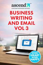 Business Writing and Email Vol 3
