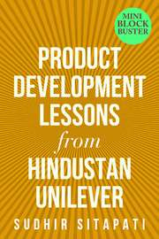 Product Development Lessons from Hindustan Unilever