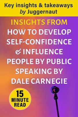 Insights from How to Develop Self-Confidence and Influence People by Public Speaking by Dale Carnegie in 15 mins